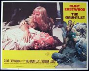 THE GAUNTLET 1977 Clint Eastwood Lobby card 8