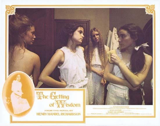GETTING OF WISDOM Lobby Card 3 1978 Bruce Beresford Australian Movie