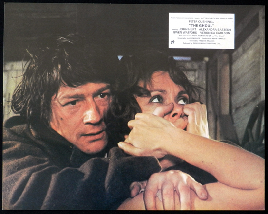 THE GHOUL 1975 John Hurt TYBURN HORROR Lobby Card 4