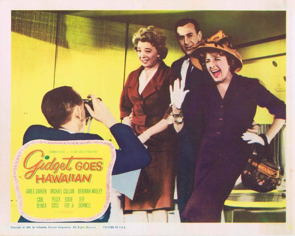 GIDGET GOES HAWAIIAN Lobby Card 4 Deborah Walley Carl Reiner