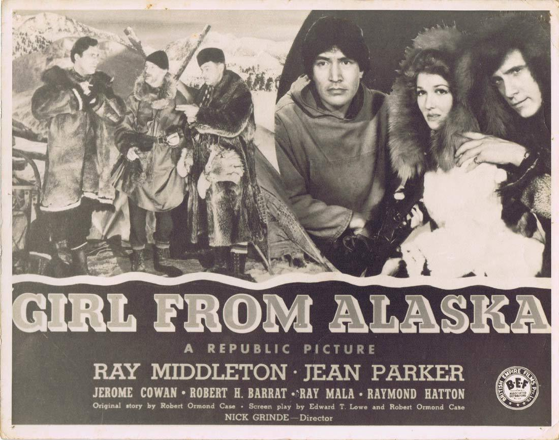 THE GIRL FROM ALASKA Original Australian Lobby Card 3 Ray Middleton Jean Parker