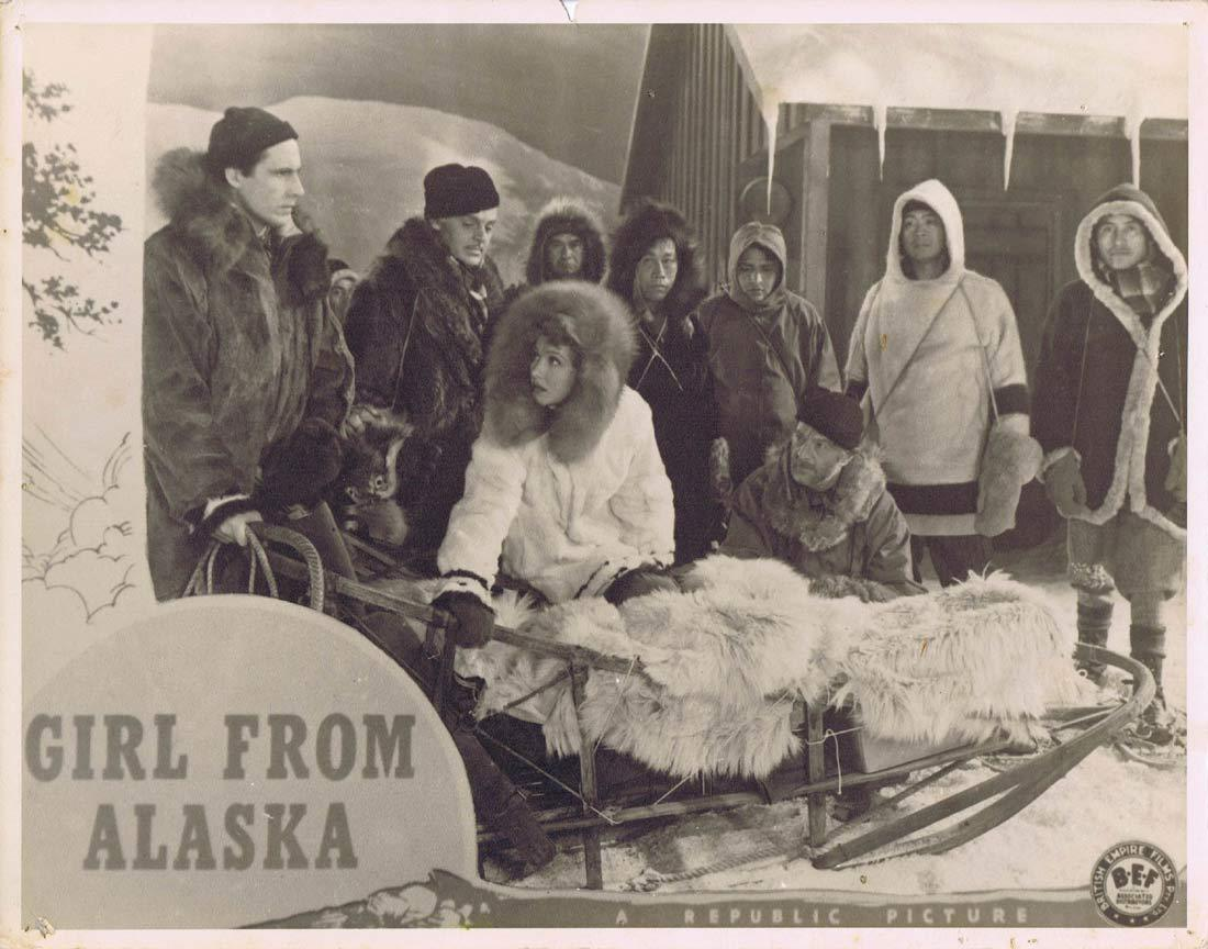 THE GIRL FROM ALASKA Original Australian Lobby Card Ray Middleton Jean Parker