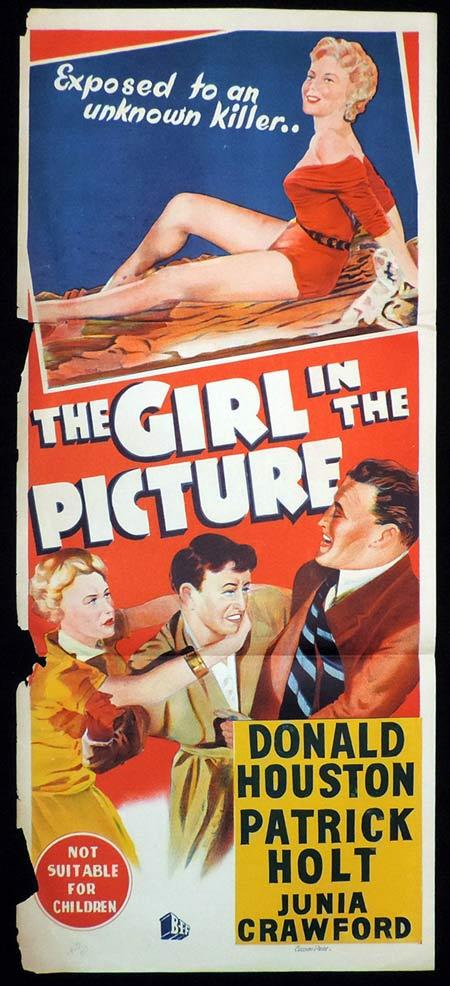 THE GIRL IN THE PICTURE Daybill Movie Poster Donald Houston