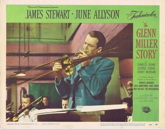 GLENN MILLER STORY Lobby Card 7 1954 James Stewart