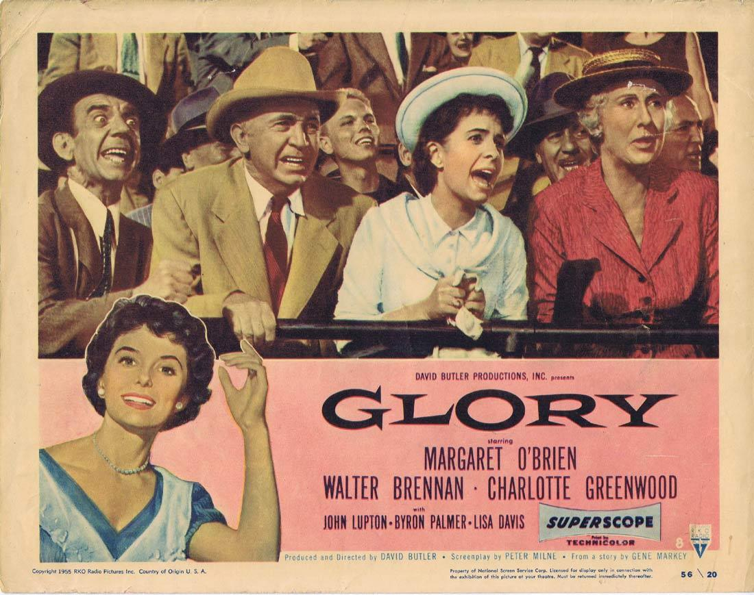 GLORY Lobby card 8 Margaret O'Brien Walter Brennan