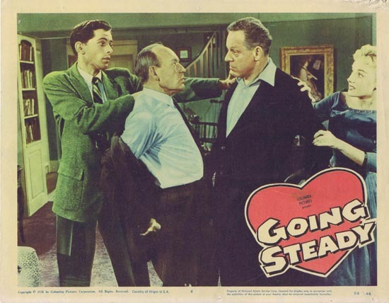 GOING STEADY 1958 Molly Bee US Lobby card 4