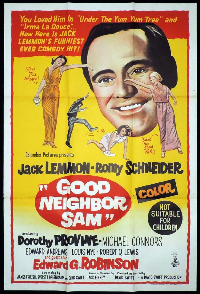 Good neighbor Sam Jack Lemmon movie poster print