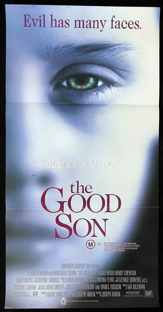 THE GOOD SON Original Daybill Movie Poster Macaulay Culkin Elijah Wood