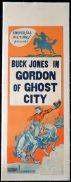 GORDON OF GHOST CITY Long Daybill Movie poster 1933 Buck Jones Universal Serial Western