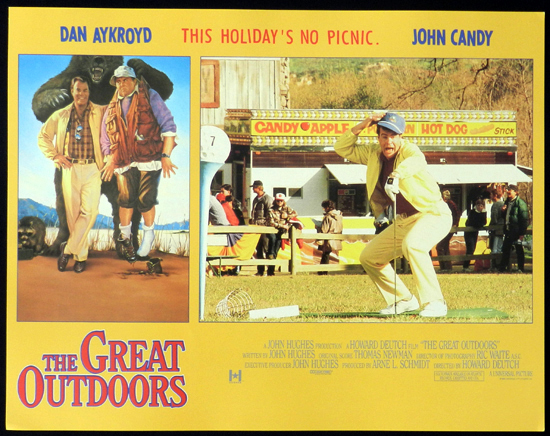 THE GREAT OUTDOORS 1988 John Candy Dan Aykroyd Lobby Card 2