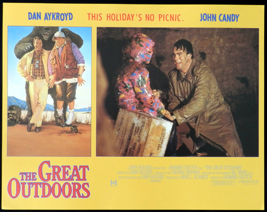 THE GREAT OUTDOORS 1988 John Candy Dan Aykroyd Lobby Card 3