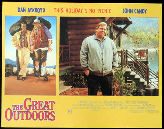 THE GREAT OUTDOORS 1988 John Candy Dan Aykroyd Lobby Card 5