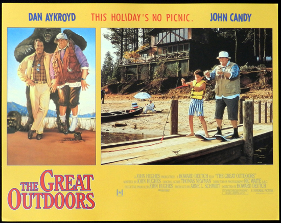 THE GREAT OUTDOORS 1988 John Candy Dan Aykroyd Lobby Card 7