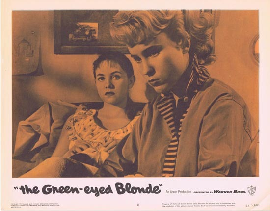 THE GREEN EYED BLONDE 1957 Lobby Card 5 Susan Oliver Bad Girls