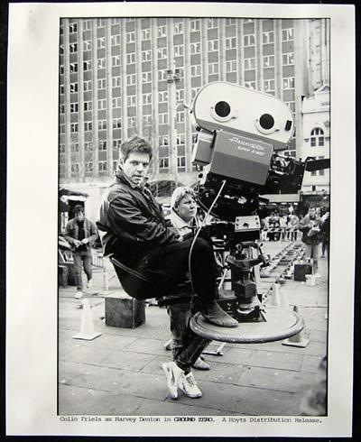 GROUND ZERO Colin Friels at the Camera! Rare Australian Film Movie Still 8