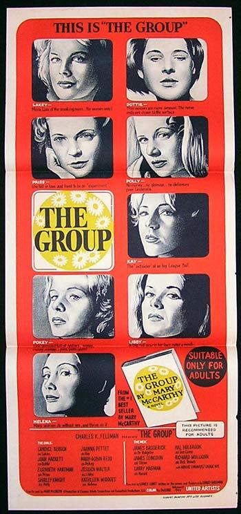 THE GROUP Movie poster 1966 Candice Bergen Australian Daybill
