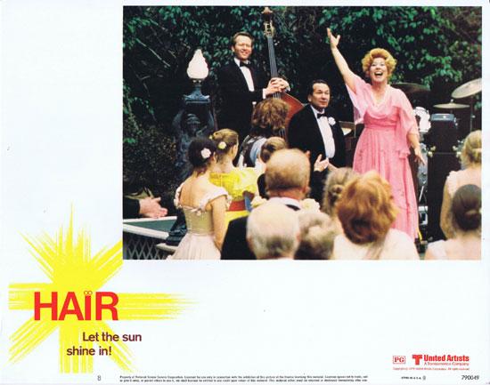 HAIR Lobby card 8 Musical Let the Sunshine In