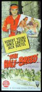THE HALF BREED Original Daybill Movie Poster RKO Robert Young