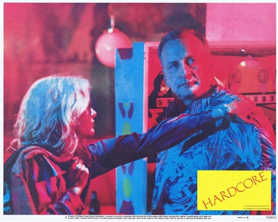 HARDCORE 1979 Lobby Card 3 George C. Scott Dick Sargent
