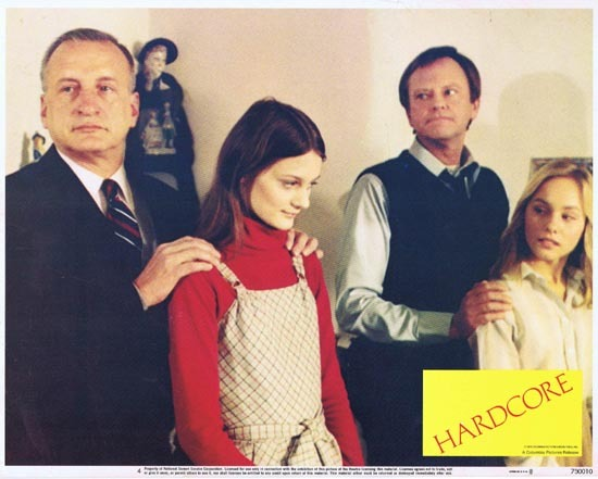 HARDCORE 1979 Lobby Card 4 George C. Scott Dick Sargent
