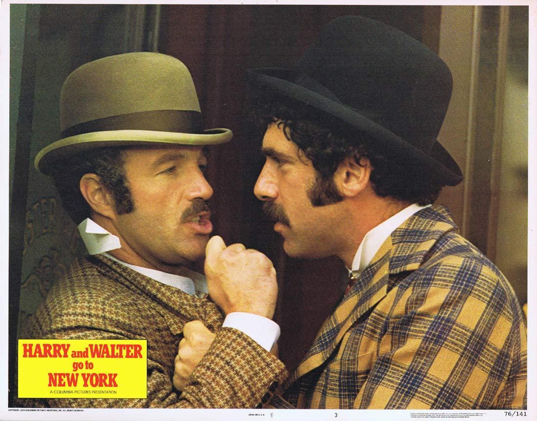 HARRY AND WALTER GO TO NEW YORK Lobby Card 3 James Caan Elliott Gould