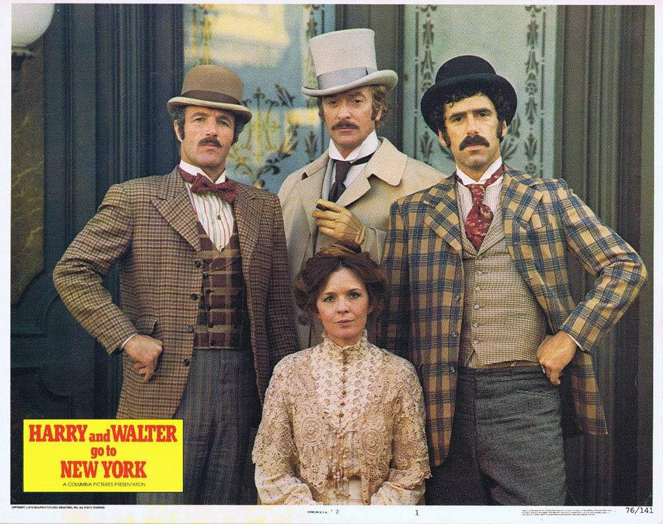 HARRY AND WALTER GO TO NEW YORK Lobby Card 1 James Caan Elliott Gould Diane Keaton Michael Caine