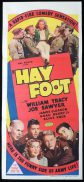 HAY FOOT Original Daybill Movie Poster William Tracy Marchant Graphics