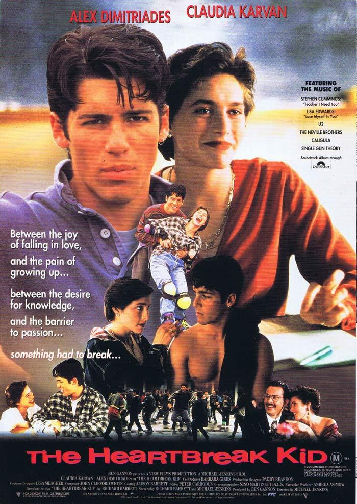 THE HEARTBREAK KID Original Movie Herald Study Guide Claudia Karvan Alex Dimitriades