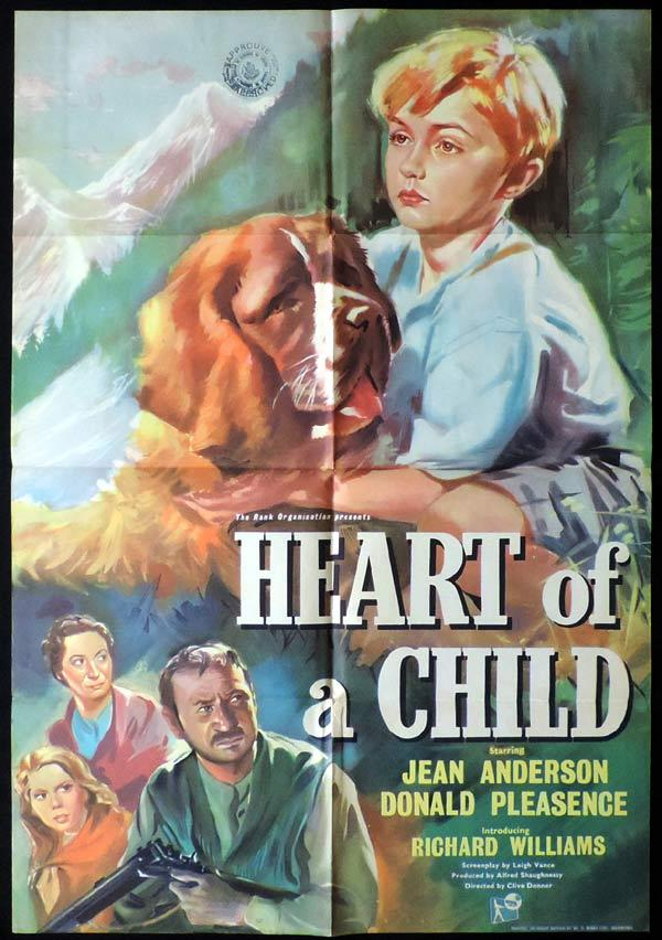 HEART OF CHILD British One Sheet Movie Poster Donald Pleasence