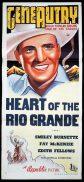 HEART OF THE RIO GRANDE Original Daybill Movie Poster Gene Autry