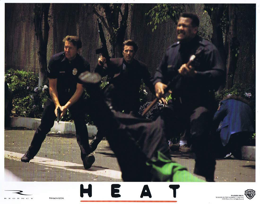HEAT Original Lobby Card 3 Al Pacino Robert De Niro Val Kilmer
