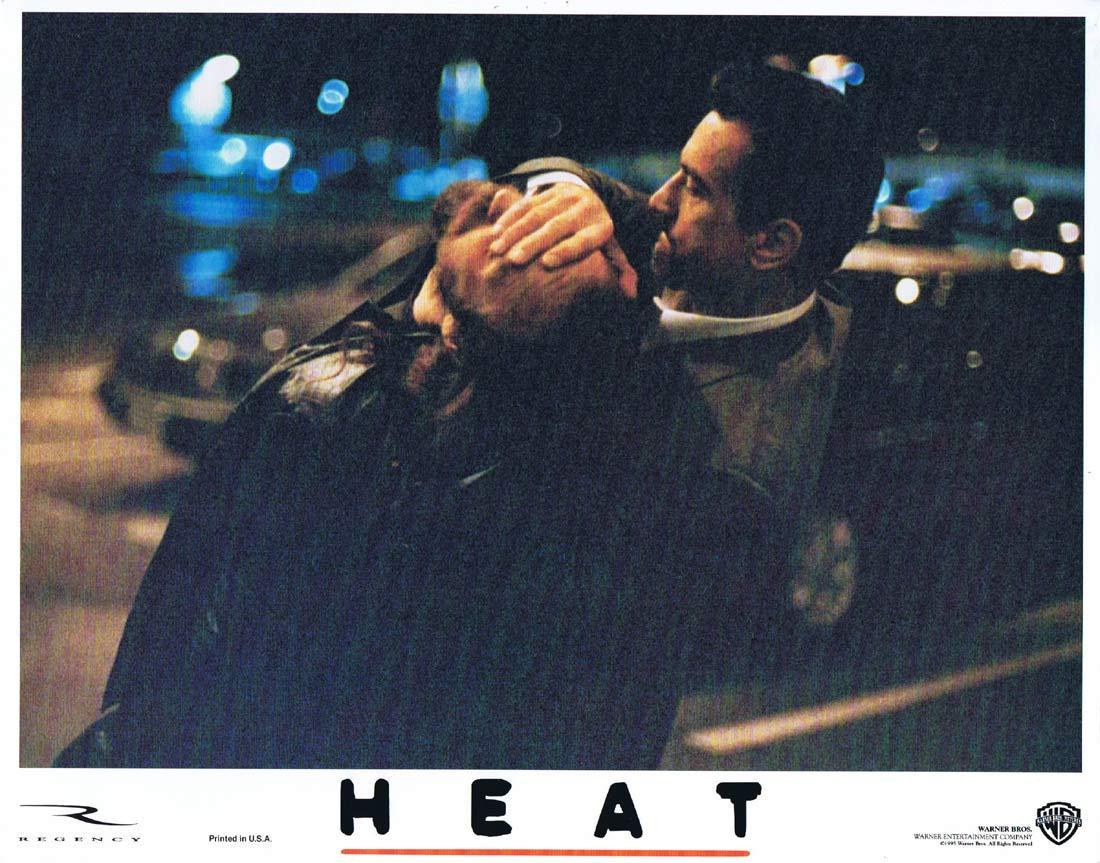 HEAT Original Lobby Card 5 Al Pacino Robert De Niro Val Kilmer