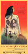 HEAVEN & EARTH Original Daybill Movie poster Tommy Lee Jones Oliver Stone