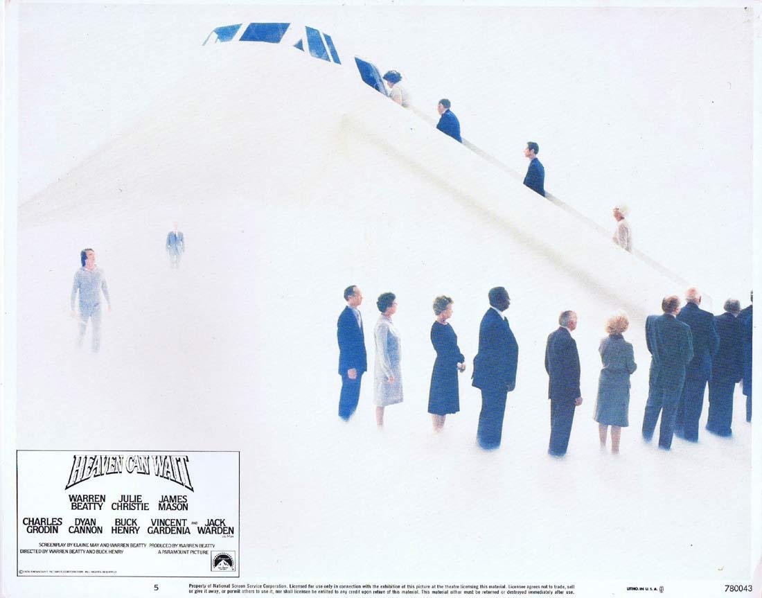 HEAVEN CAN WAIT Original Lobby Card 5 Warren Beatty Julie Christie