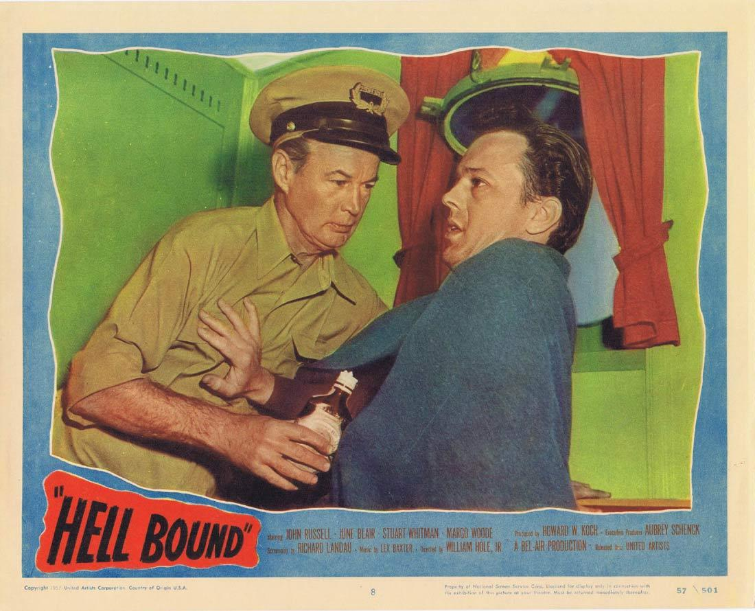 HELL BOUND Lobby Card 8 John Russell June Blair Stuart Whitman