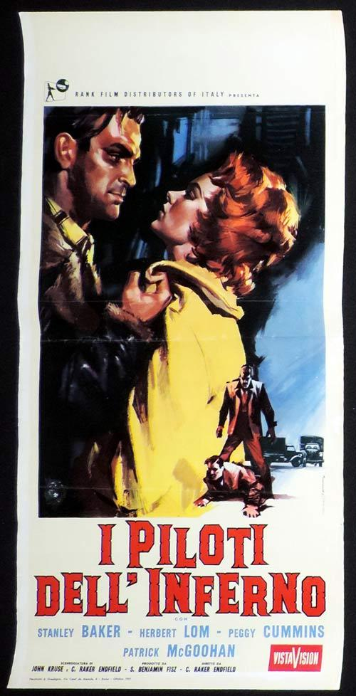 HELL DRIVERS Italian Locandina Movie Poster Stanley Baker