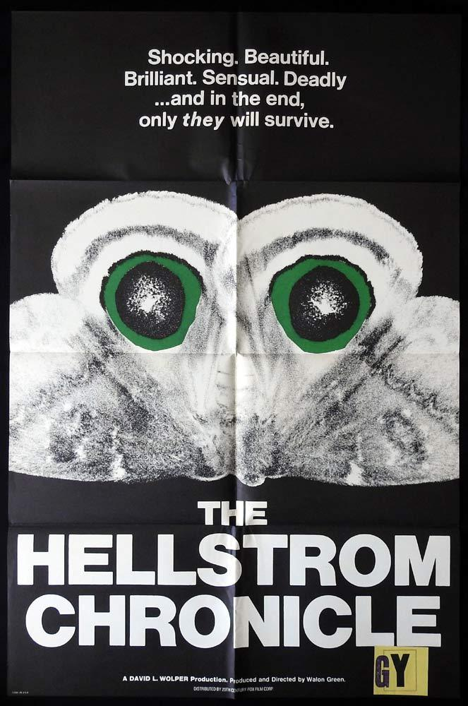 THE HELLSTROM CHRONICLE US One Sheet Movie Poster Lawrence Pressman Insects