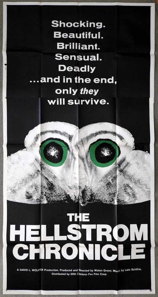 THE HELLSTROM CHRONICLE US Three Sheet Movie Poster Lawrence Pressman Insects