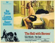 THE HELL WITH HEROES Lobby Card 4 Claudia Cardinale