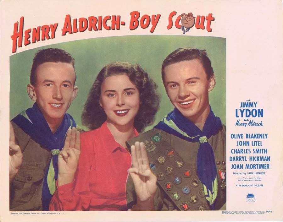 HENRY ALDRICH BOY SCOUT Lobby Card 2 Jimmy Lydon