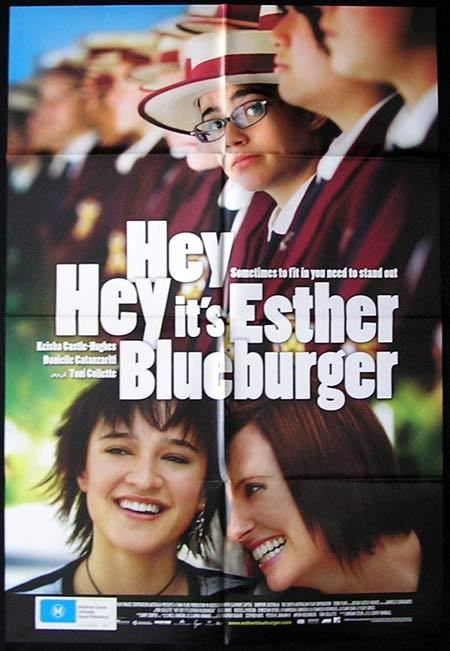 HEY HEY ITS ESTHER BLUEBURGER Movie Poster 2008 Leticia Monaghan Australian One sheet