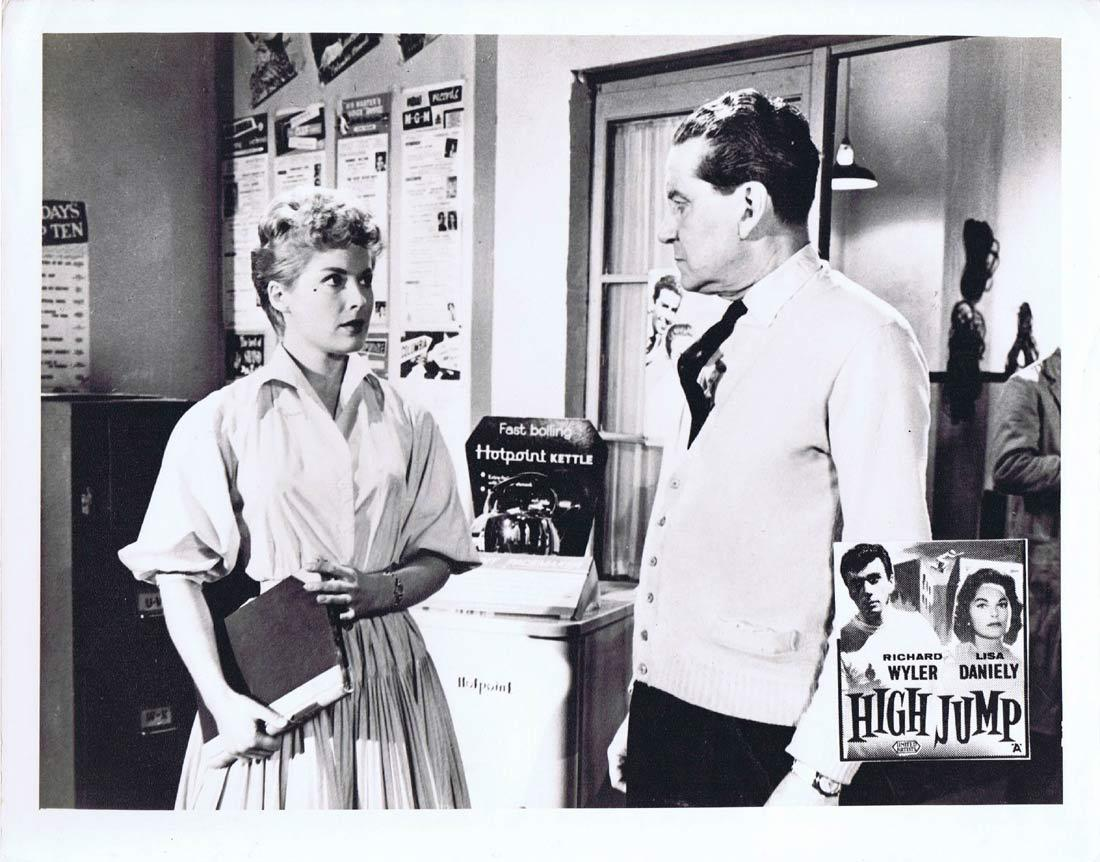 HIGH JUMP Original Australian Lobby Card 4 Richard Wyler Lisa Daniely Leigh Madison