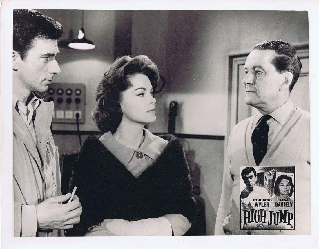 HIGH JUMP Original Australian Lobby Card 5 Richard Wyler Lisa Daniely Leigh Madison