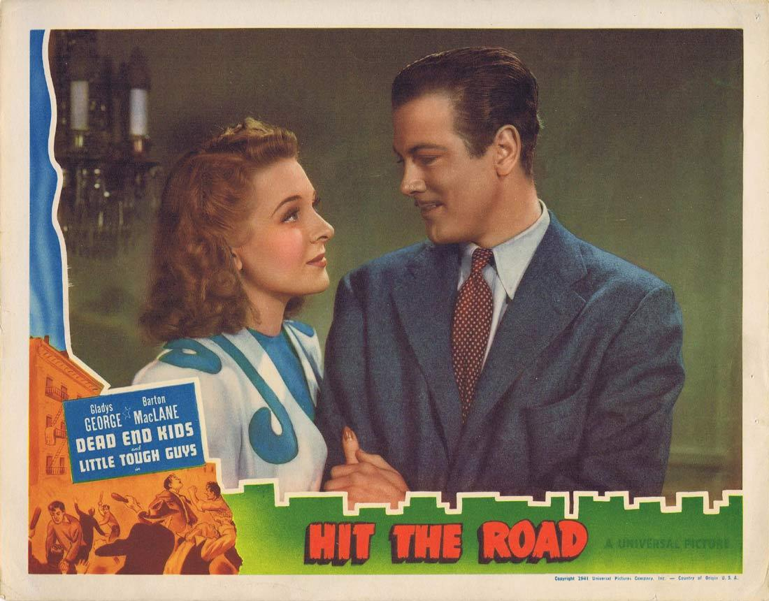 HIT THE ROAD Lobby Card Gladys George Barton MacLane Billy Halop