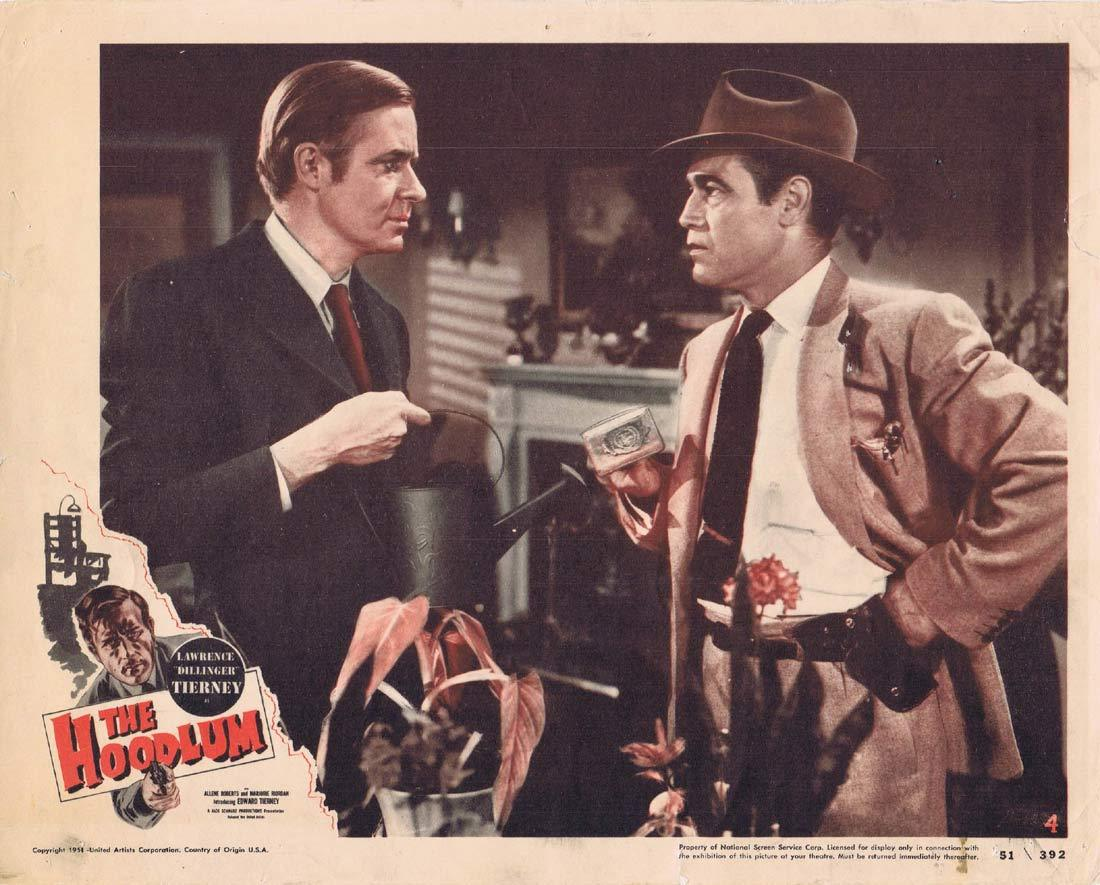 THE HOODLUM Original Lobby Card 4 Lawrence Tierney Allene Roberts Film Noir