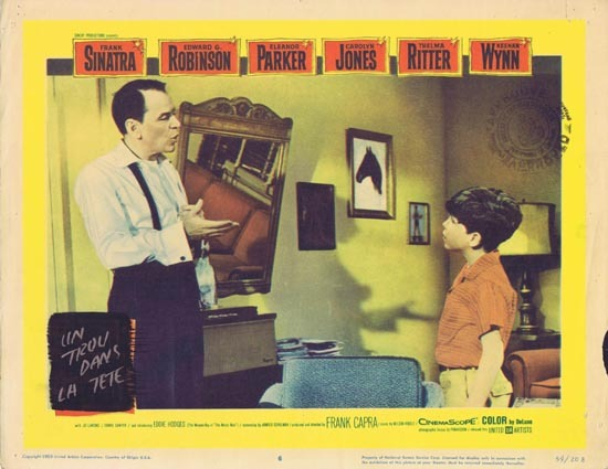 A HOLE IN THE HEAD 1959 Lobby Card 6 Frank Sinatra