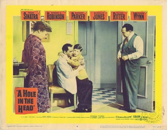 A HOLE IN THE HEAD 1959 Lobby Card 8 Frank Sinatra Edward G.Robinson