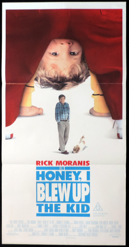 HONEY I BLEW UP THE KIDS Original Daybill Movie poster Rick Moranis
