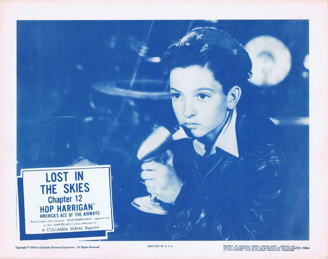 HOP HARRIGAN Original Lobby Card 2 Chapter 12 Columbia Serial 1957r