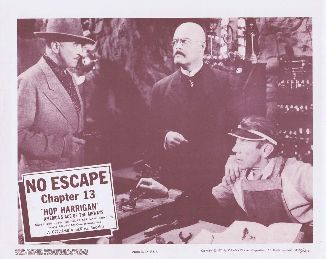 HOP HARRIGAN Original Lobby Card Chapter 13 Columbia Serial 1957r